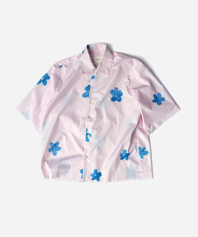 CAMIEL FORTGENS HAND PAINTER FLOWER SHIRT