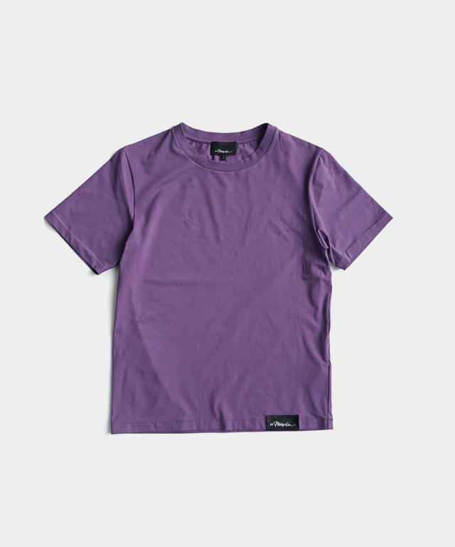 3.1 Phillip Lim SS PERFECUT TEE purple