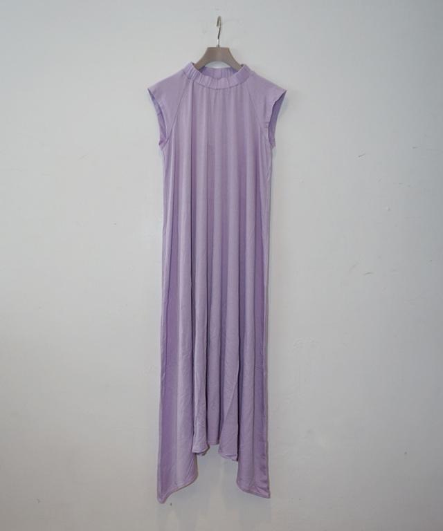 babaco テンセルワンピ lilac