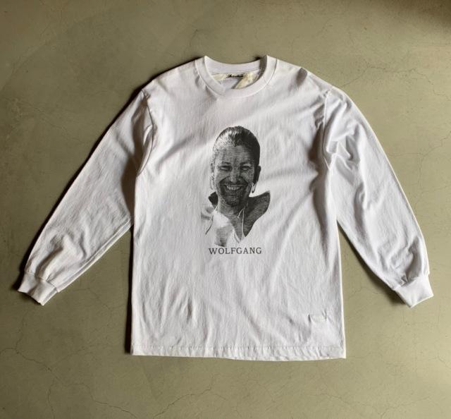 Midorikawa WOLF GANG L/S WHITE