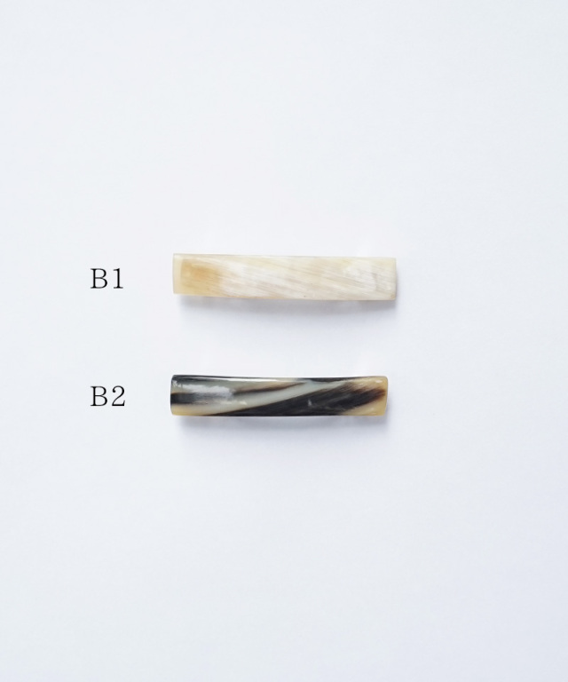 KOST KAMM Hair clip with stick Water-Buffalo Horn / 8cm TYPE-B