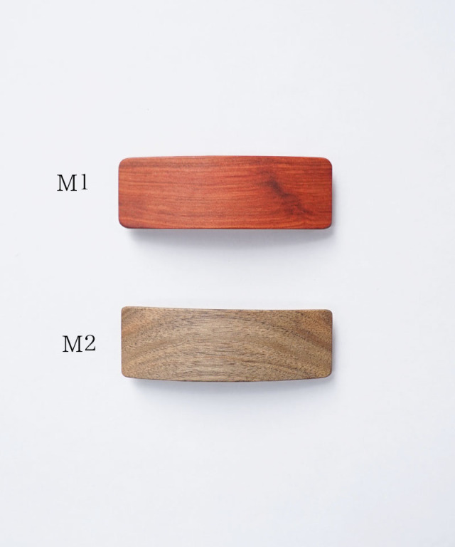 KOST KAMM Hair clip Natural Wood /8cm TYPE-M M-1