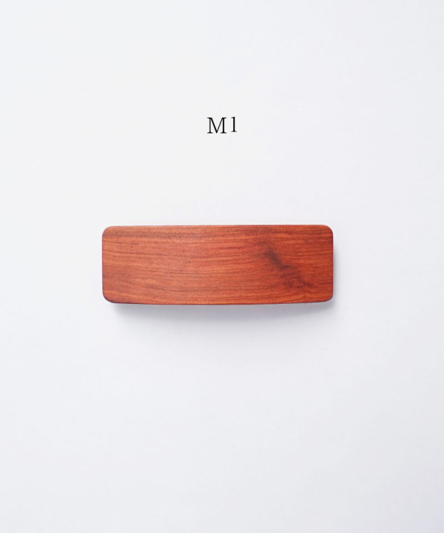 KOST KAMM Hair clip Natural Wood /8cm TYPE-M M-3
