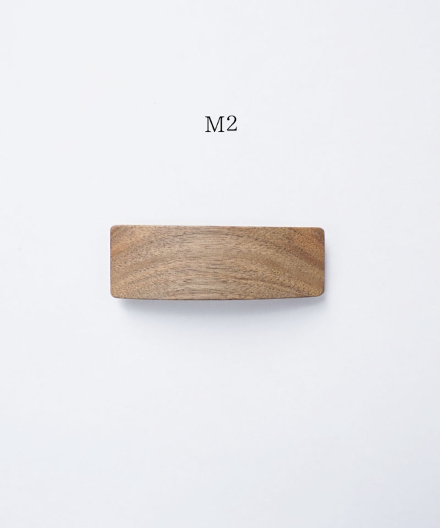 KOST KAMM Hair clip Natural Wood /8cm TYPE-M M-4