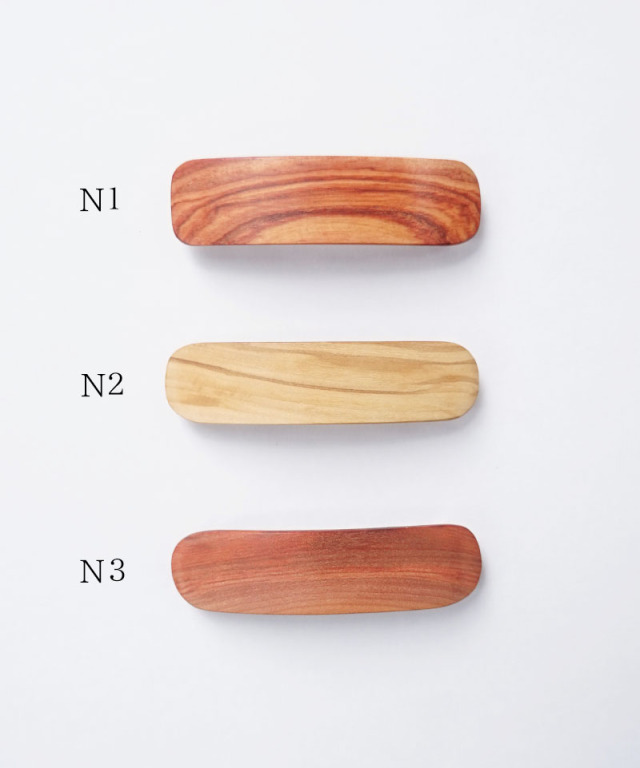 KOST KAMM Hair clip Natural Wood /8cm TYPE-N