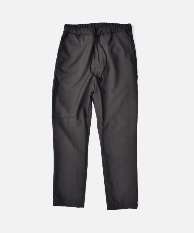 HEALTH EASY PANTS #1 ブラック×ブラウンチェック