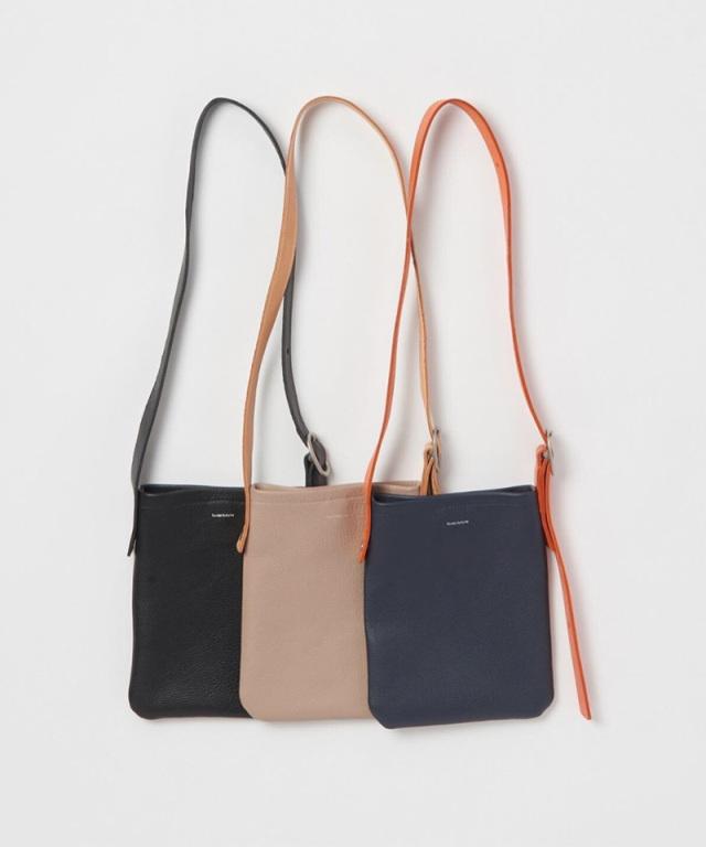 Hender Scheme one side belt bag small black