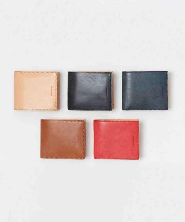 Hender Scheme half folded wallet natural