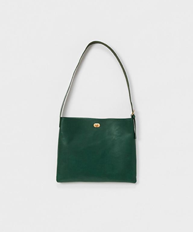 Hender Scheme twist buckle bag M deep green