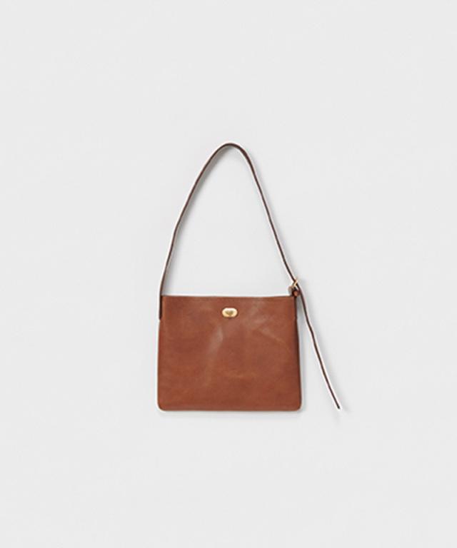 Hender Scheme twist buckle bag S dark brown