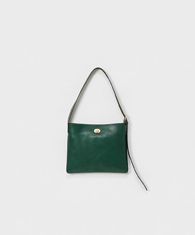 Hender Scheme twist buckle bag S deep green