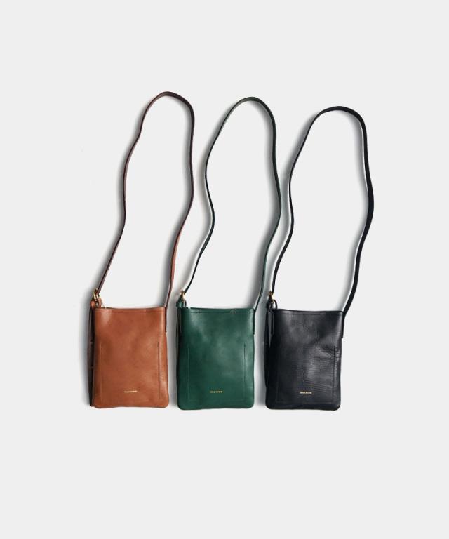 Hender Scheme twist buckle bag XS black