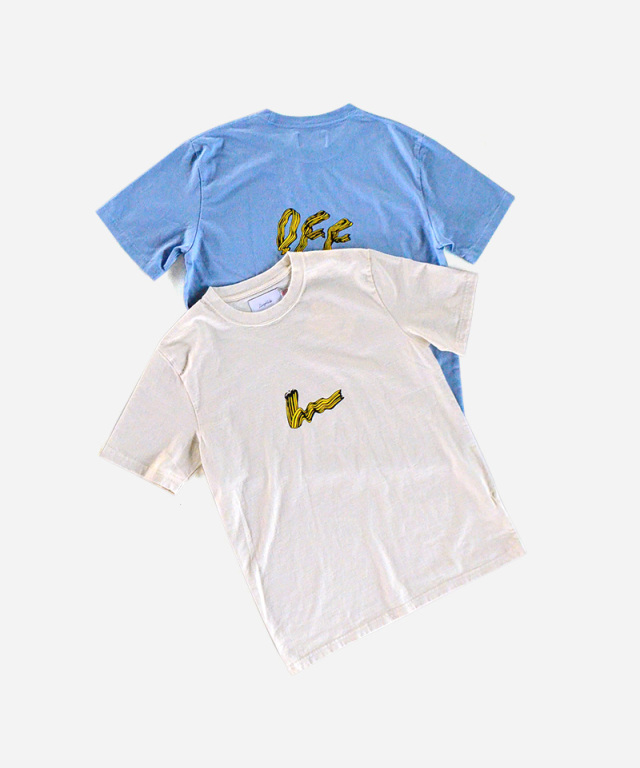 LAUGH & BE I AM S/S TEE OUT