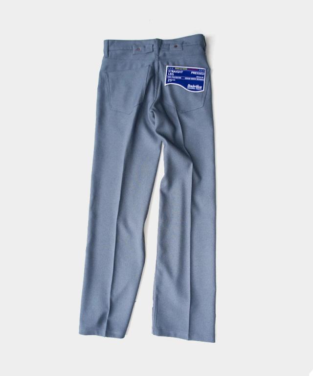 DAIRIKU Flasher Pressed Pants Teal Blue