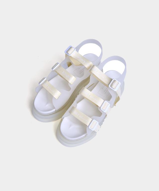 beautiful people transrate gradation tpae sandal clear