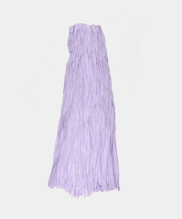 ERiKO KATORi Silk Hand Crepe Skirt PUR
