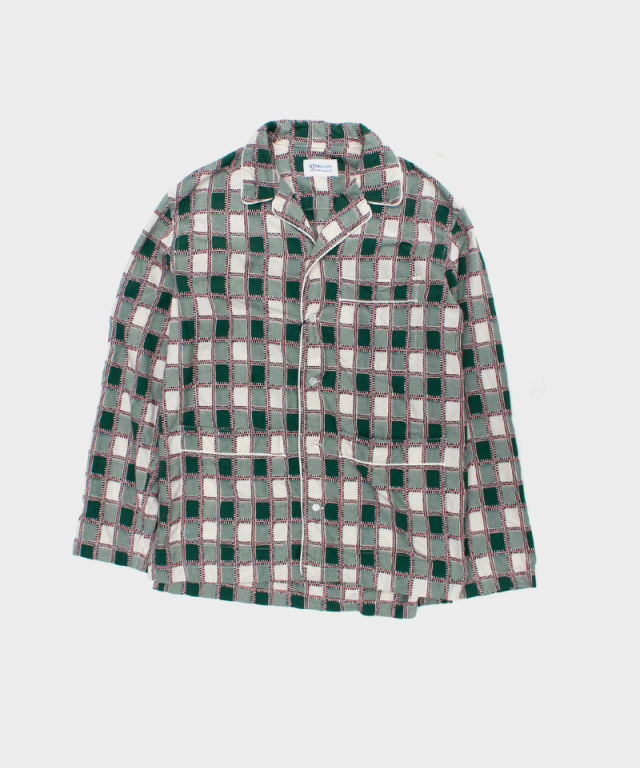 KUON Pajama Shirt Green