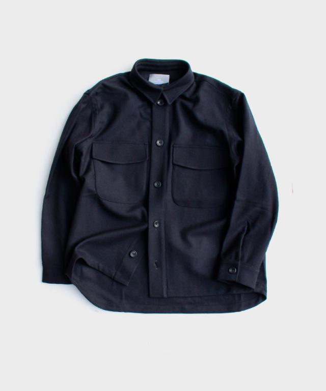 QUILP Shirt Jacket Serge NAVY