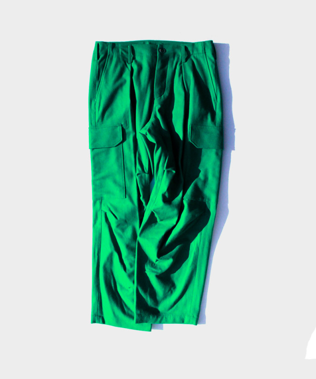 POLYPLOID CARGO TACK PANTS C GREEN