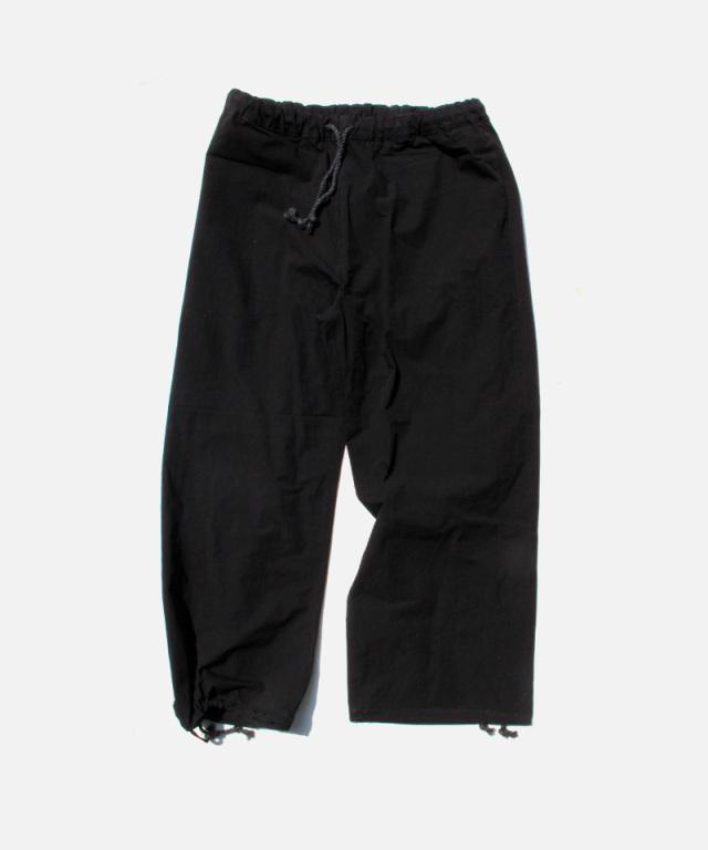 POLYPLOID OVER PANTS B BLACK