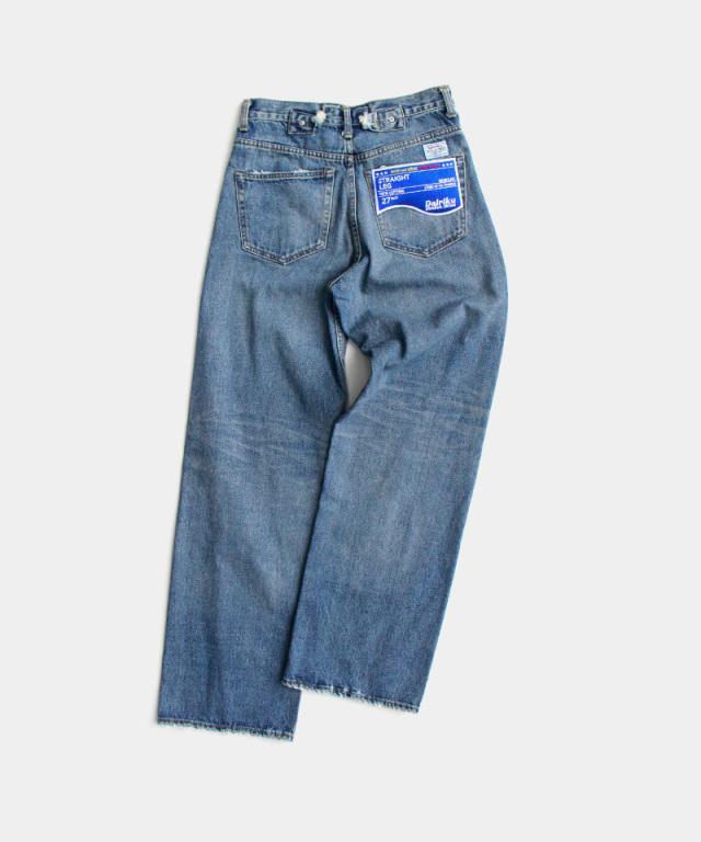 DAIRIKU Wash N'WEARDamage Denim Pants Damage