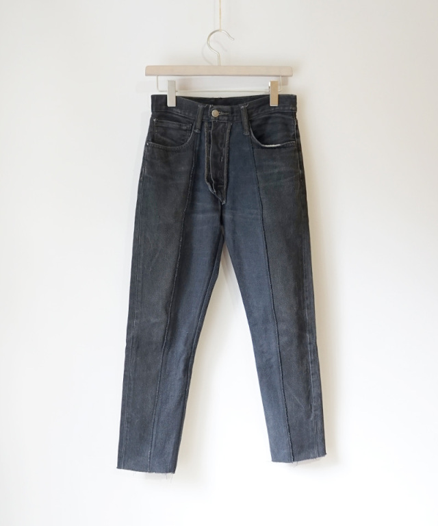 PHOTOCOPIEU REWORKED DENIM BLACK A