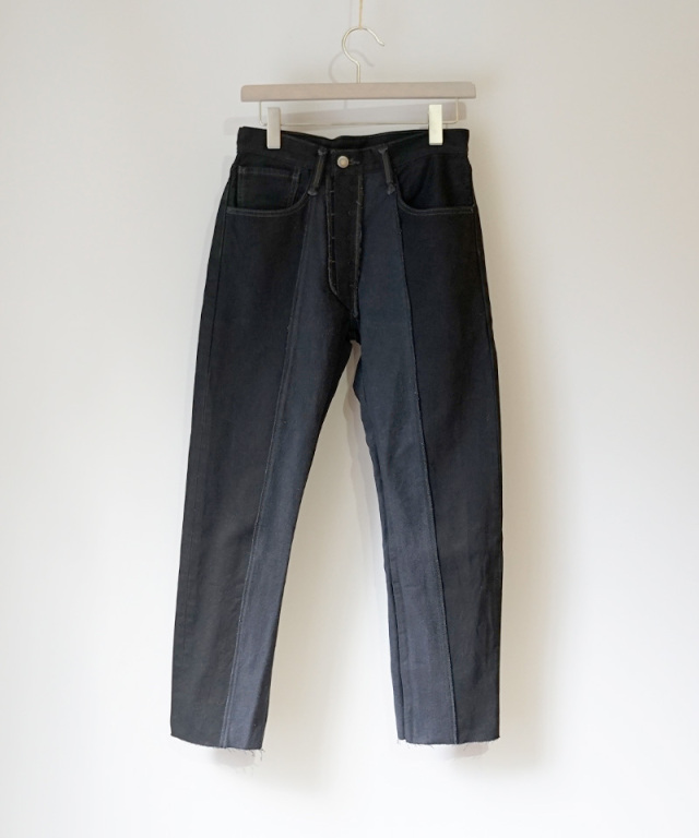 PHOTOCOPIEU REWORKED DENIM BLACK B