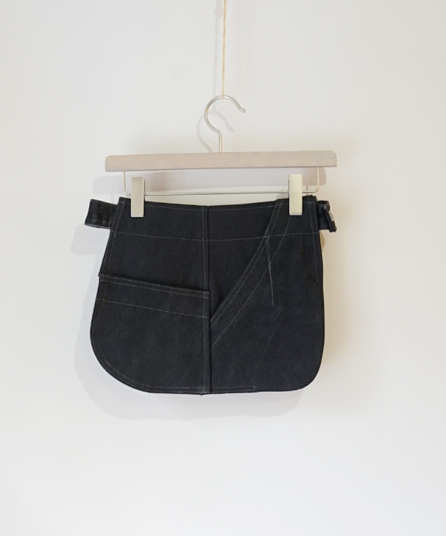 PHOTOCOPIEU DOUBLE POCKET BELT BLACK