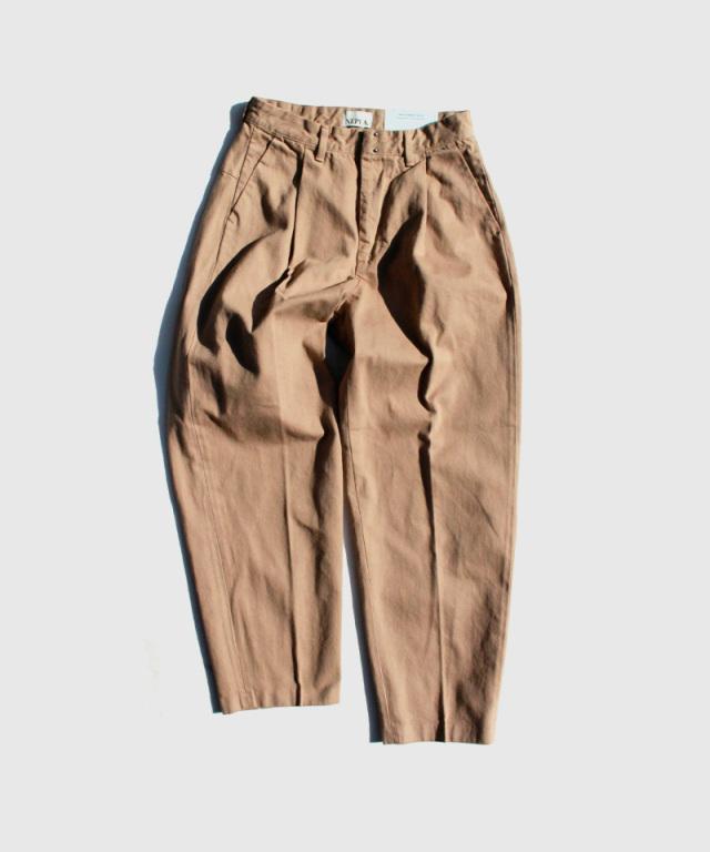NEPLA TACK SLACKS BOTANICAL brown