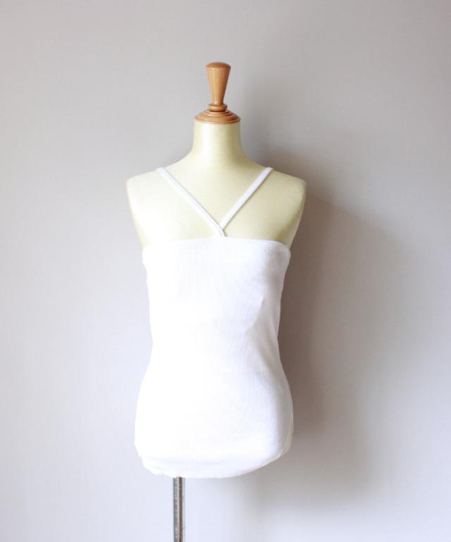 WANDERUNG Bra camisole WHITE
