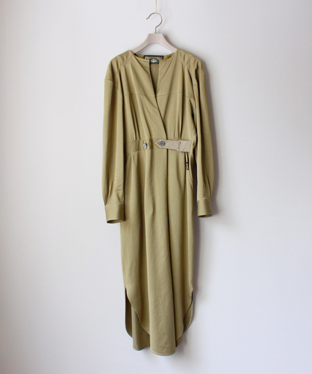 PHOTOCOPIEU BIAIS DRESS OLIVE