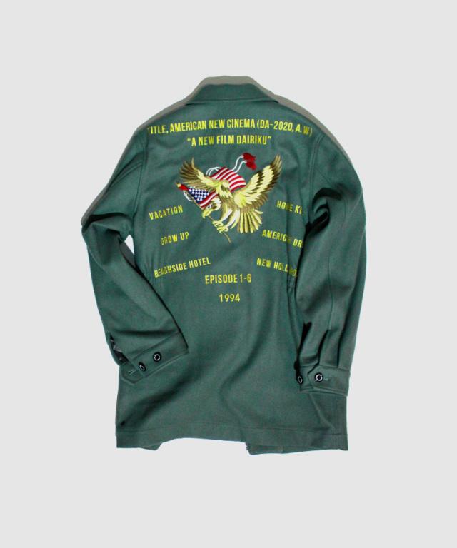 DAIRIKU All SeasonTour Melton Jacket
