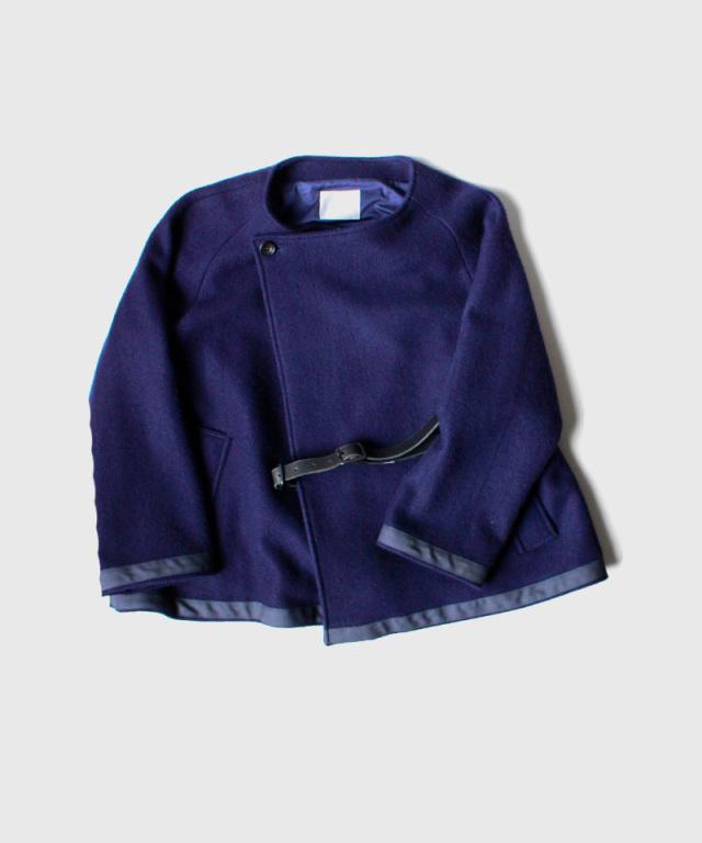 QUILP Blanket Jacket Duffle navy
