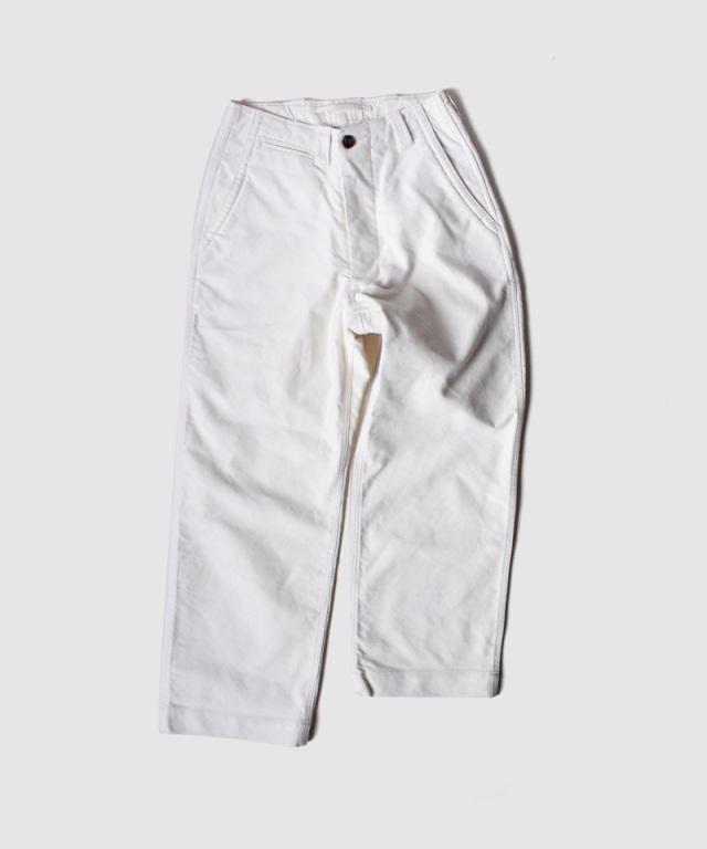 QUILP wide trouser moleskin natural