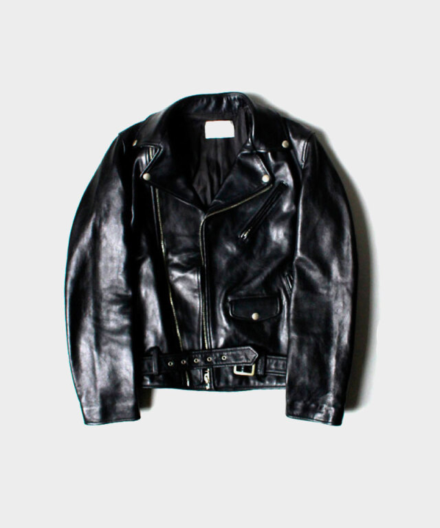 beautiful people vintage leather riders jacket black