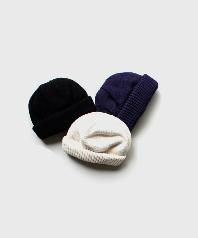 crepuscule knit cap white