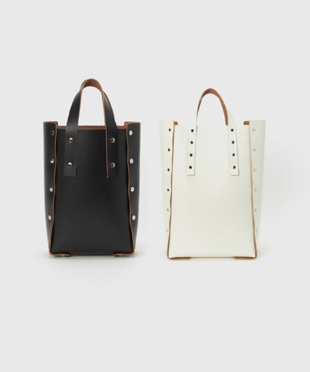 Hender Scheme assemble hand bag tall M black