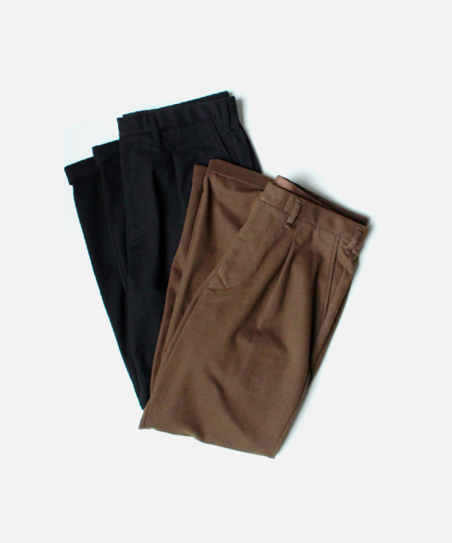 CURLY BLEECKER TIP TROUSERS