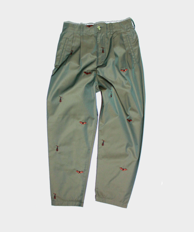 PHINGERIN US TROUSERS BATS A:OLIVE