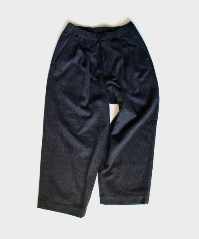 HEALTH EASY PANTS #3 チャコールブラック