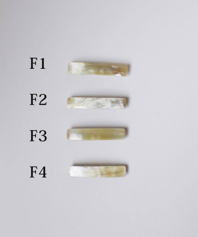 KOST KAMM Hair clip water Buffalo Horn/6cm TYPE-F