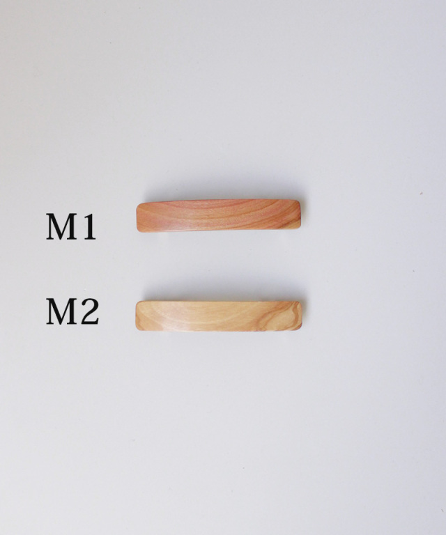 KOST KAMM Hair clip natural wood 8cm TYPE-M