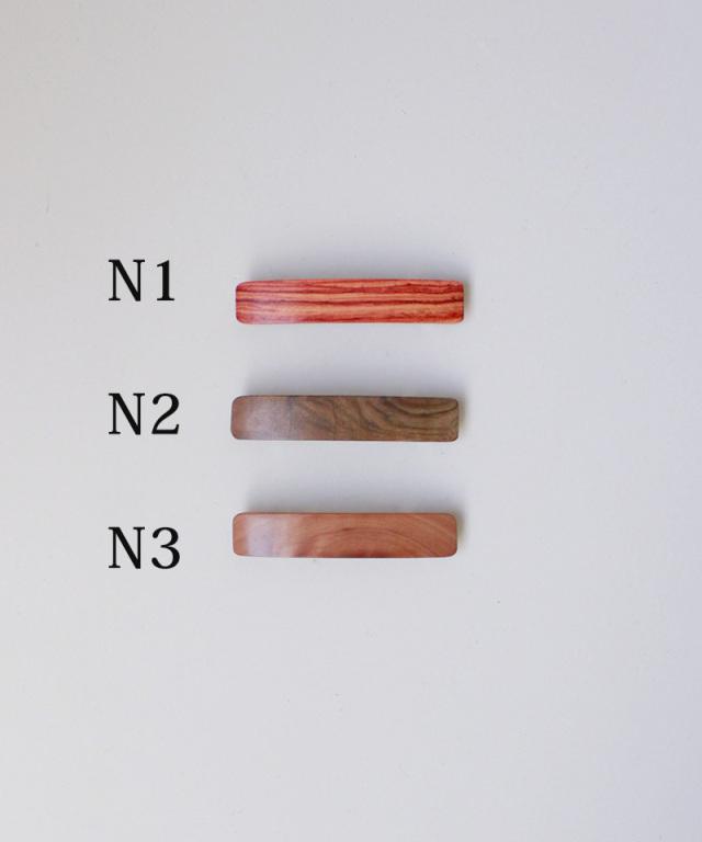 KOST KAMM Hair clip natural wood 6cm TYPE-N