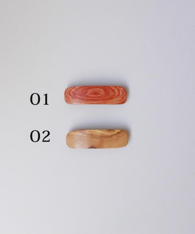 KOST KAMM Hair clip natural wood 6cm TYPE-O