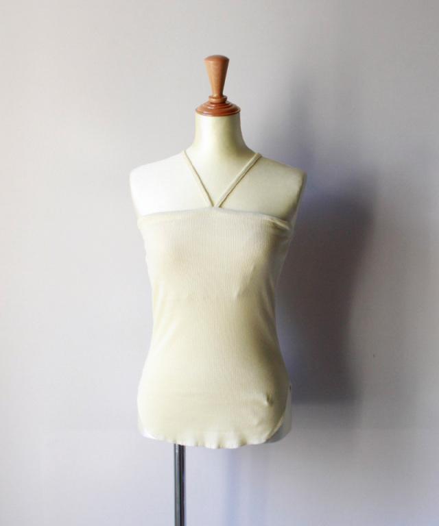 WANDERUNG bra camisole クリーム