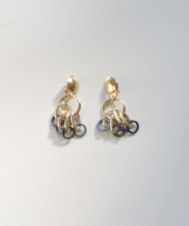 France vintage chain earring