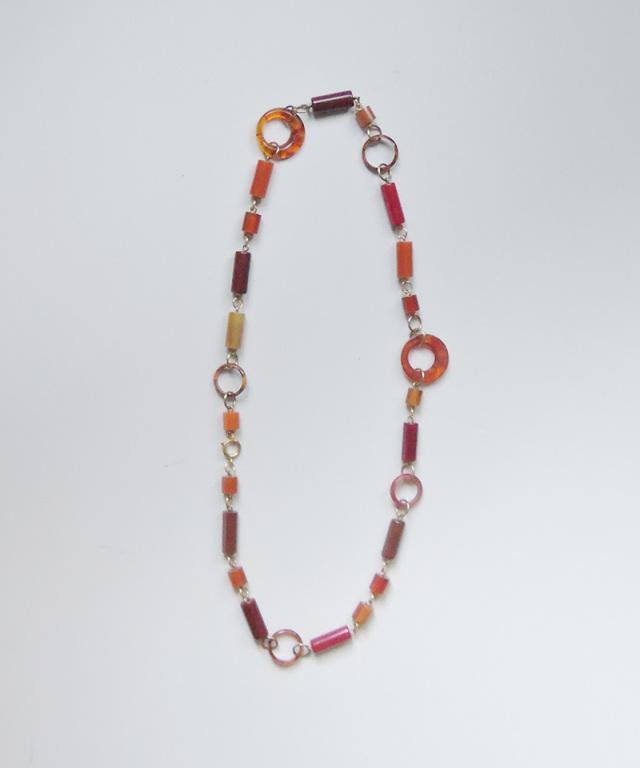 France vintage bakelite multi necklace