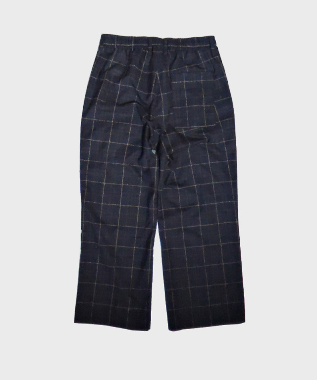 tence atelier uniform trousers wide midnight