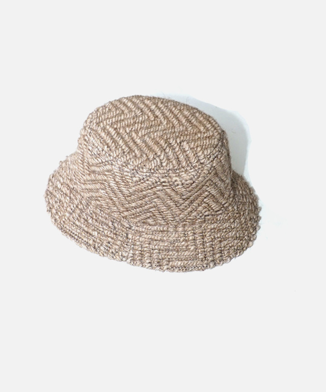 LAUGH & BE V.BOA HAT BEIGE