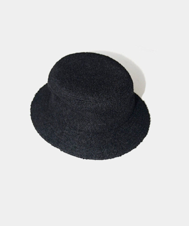 LAUGH & BE C.BOA HAT BLACK